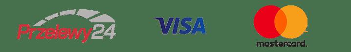 Metody płatności - Przelewy24, Visa, MasterCard