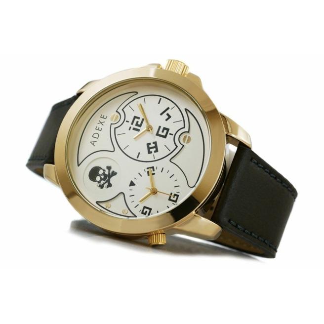 Zegarek Meski ADEXE DUAL TIME X IV 1613A 5 1