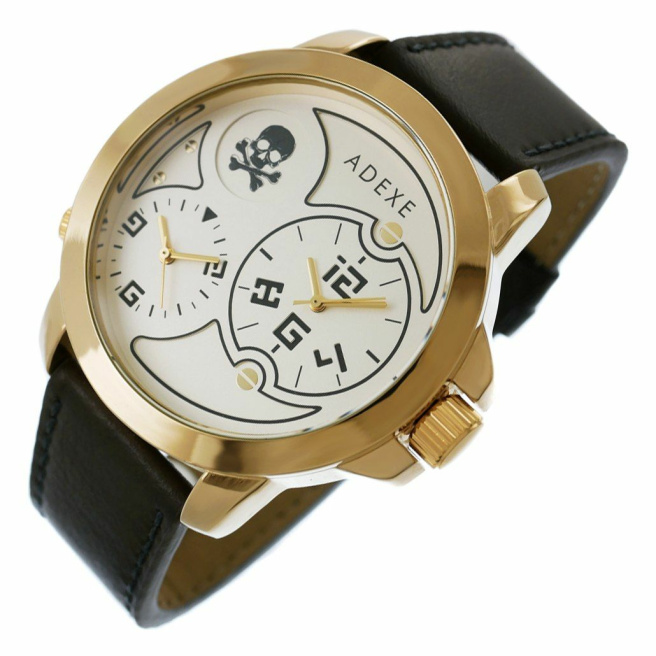 Zegarek Meski ADEXE DUAL TIME X IV 1613A 5 2