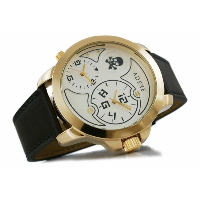 Zegarek Meski ADEXE DUAL TIME X IV 1613A 5 3