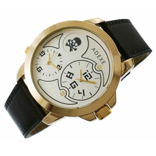 Zegarek Meski ADEXE DUAL TIME X IV 1613A 5 5