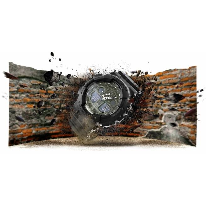 Zegarek Meski CASIO G SHOCK GA 100 1A1ER 20 Bar Do nurkowania 12