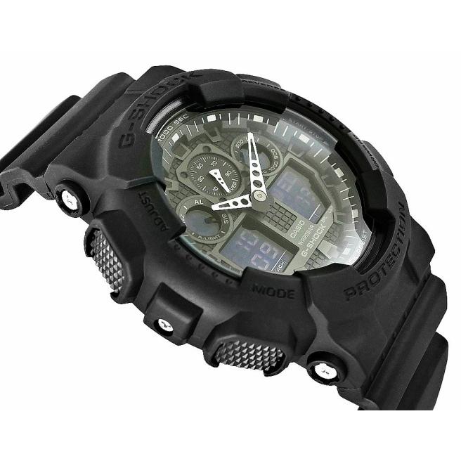 Zegarek Meski CASIO G SHOCK GA 100 1A1ER 20 Bar Do nurkowania 3