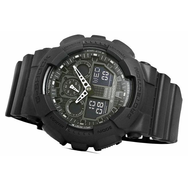 Zegarek Meski CASIO G SHOCK GA 100 1A1ER 20 Bar Do nurkowania 4