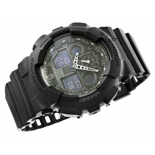 Zegarek Meski CASIO G SHOCK GA 100 1A1ER 20 Bar Do nurkowania 5