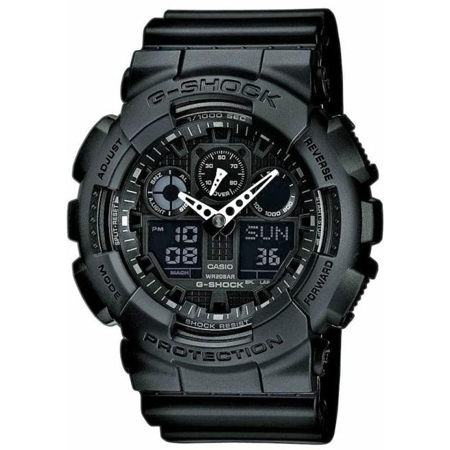 Zegarek Męski CASIO G-SHOCK GA-100-1A1ER 20 Bar Do nurkowania