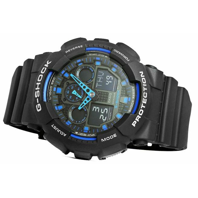 Zegarek Meski CASIO G SHOCK GA 100 1A2ER 20 Bar Do nurkowania 4