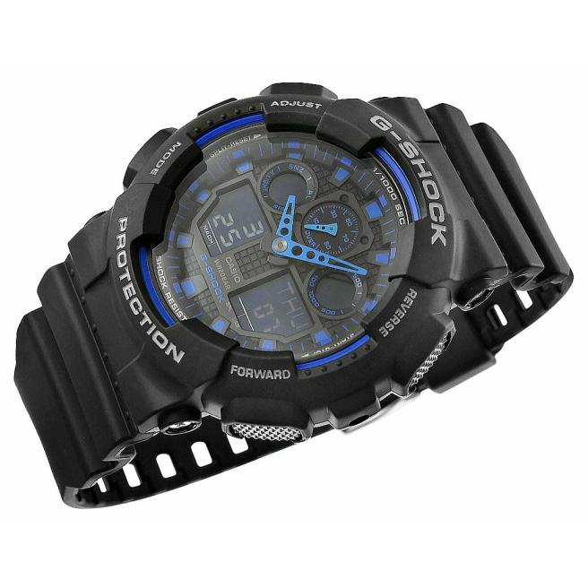 Zegarek Meski CASIO G SHOCK GA 100 1A2ER 20 Bar Do nurkowania 5