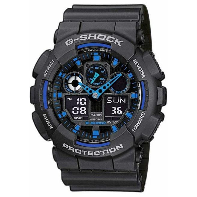 Zegarek Męski CASIO G-SHOCK GA-100-1A2ER 20 Bar Do nurkowania