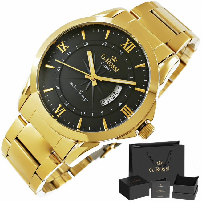 Zegarek Meski G.Rossi 3844B3 1D1 1 1