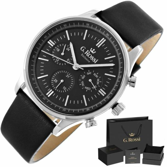 Zegarek Meski G.Rossi E10602A2 1A1 1