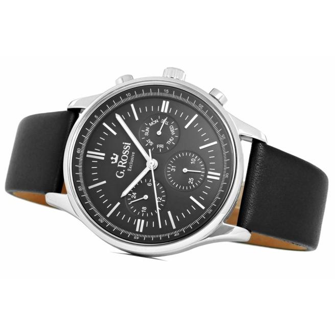 Zegarek Meski G.Rossi E10602A2 1A1 3