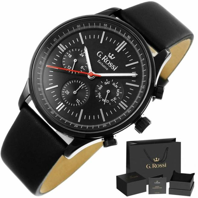 Zegarek Meski G.Rossi E10602A2 1A3 1