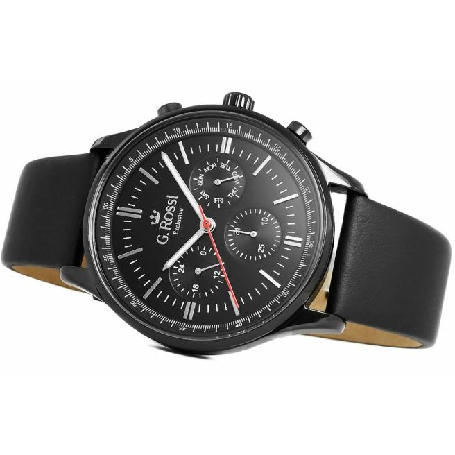 Zegarek Meski G.Rossi E10602A2 1A3 3