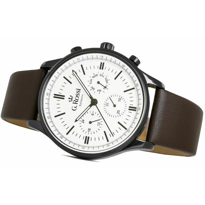 Zegarek Meski G.Rossi E10602A2 3B1 2 3