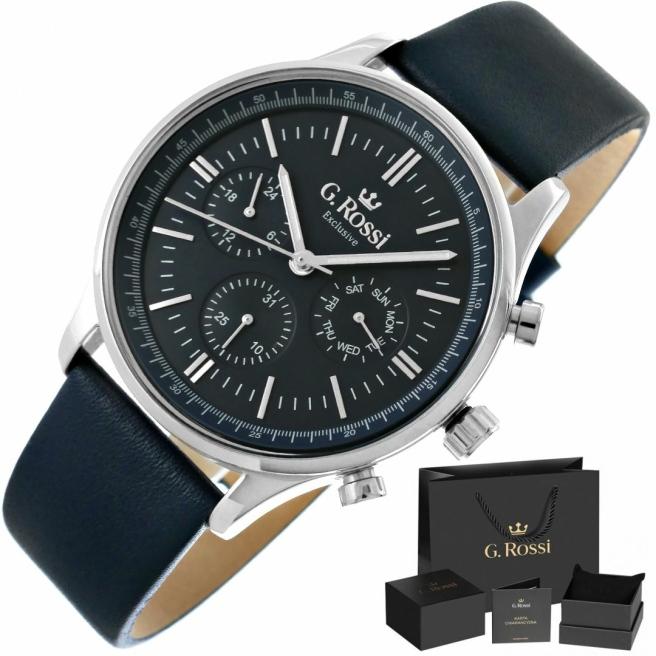 Zegarek Meski G.Rossi E10602A2 6F1 1