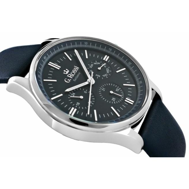 Zegarek Meski G.Rossi E10602A2 6F1 2