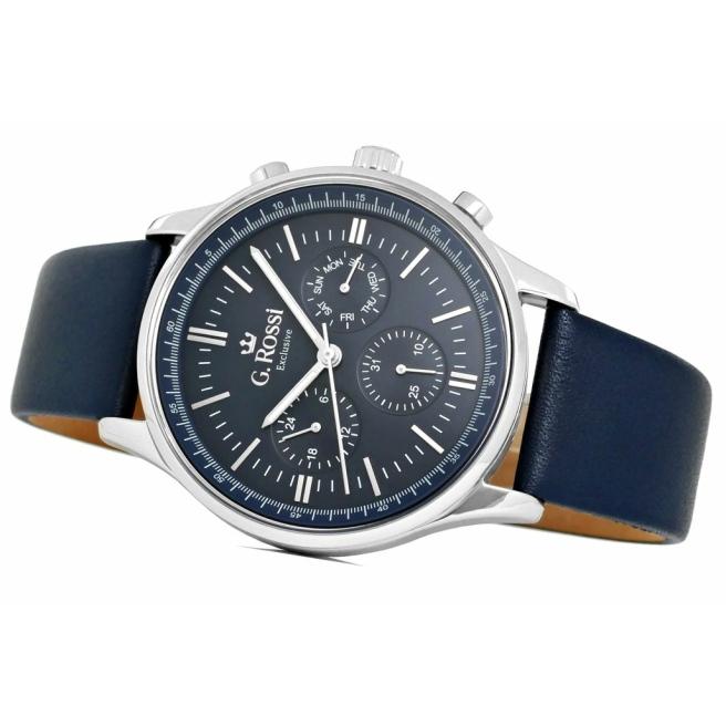 Zegarek Meski G.Rossi E10602A2 6F1 3