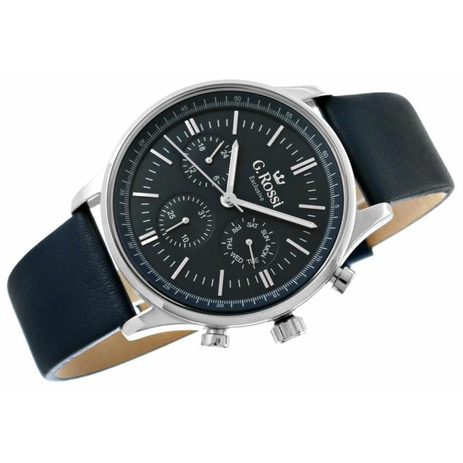 Zegarek Meski G.Rossi E10602A2 6F1 4