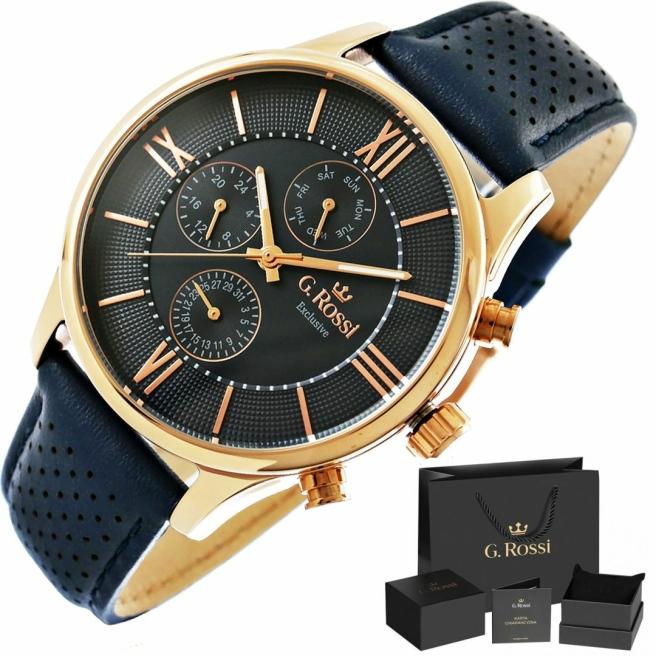 Zegarek Meski G.Rossi E11652A6 6F3 1