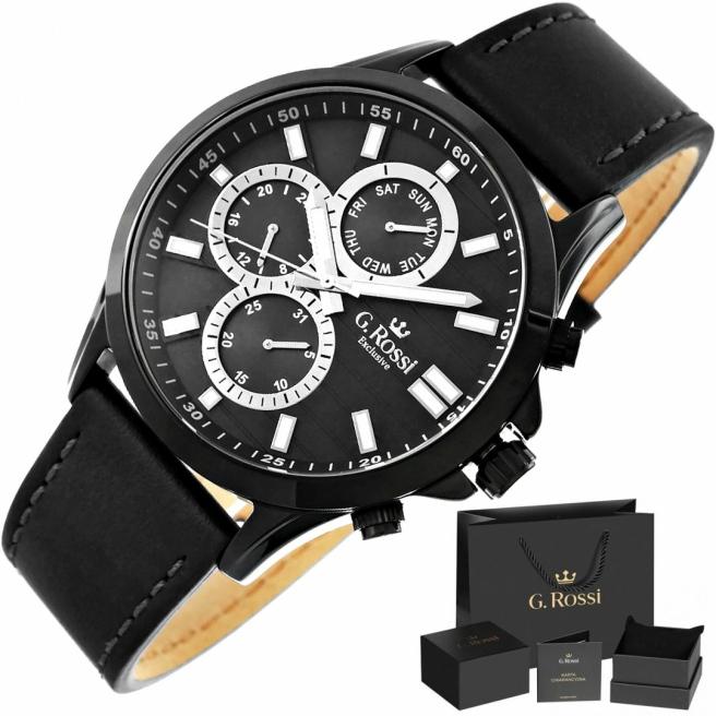 Zegarek Meski G.Rossi E8071A4 1A3 1
