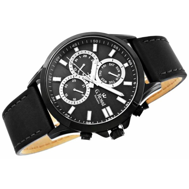 Zegarek Meski G.Rossi E8071A4 1A3 4