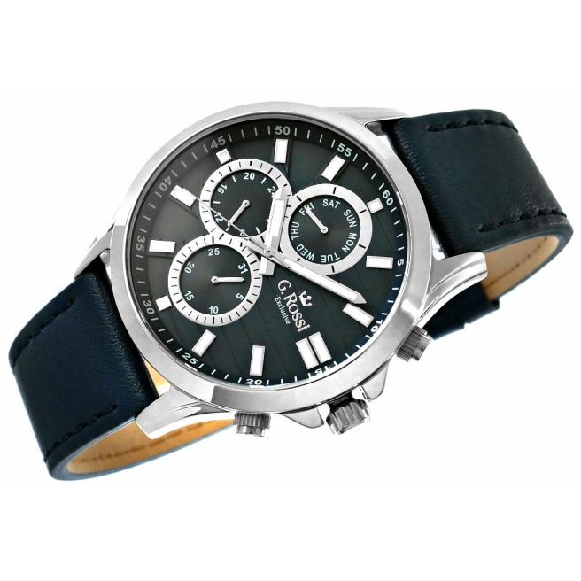 Zegarek Meski G.Rossi E8071A4 1A5 4