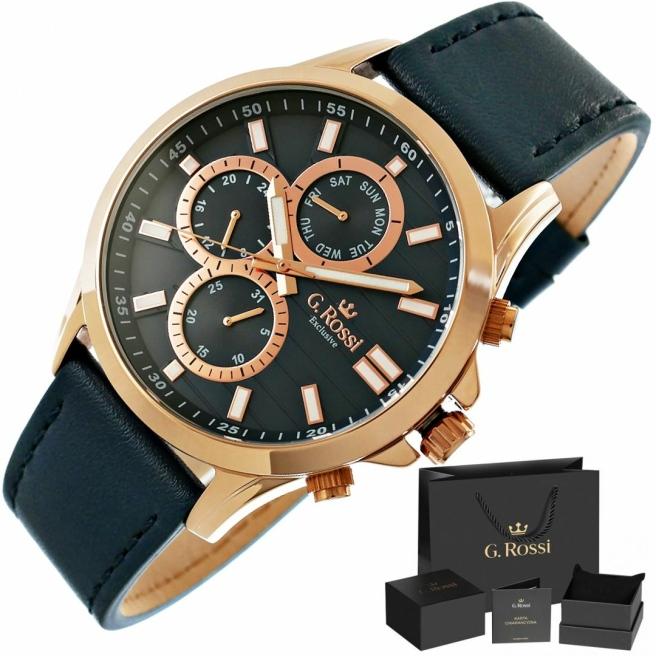 Zegarek Meski G.Rossi E8071A4 6F1 1