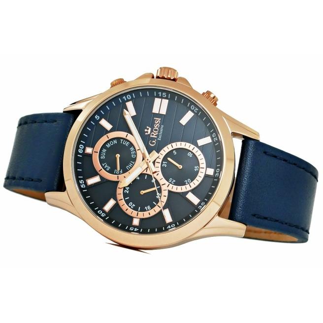 Zegarek Meski G.Rossi E8071A4 6F1 3