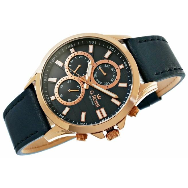 Zegarek Meski G.Rossi E8071A4 6F1 4