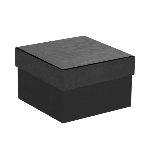 Pudełko na zegarek gładkie - Czarne